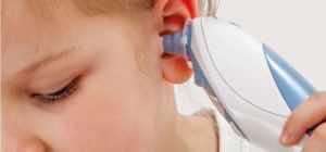 ثرمومتر الأذن الرقمي (tympanic thermometer)