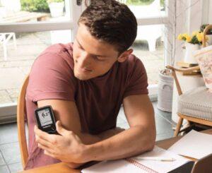 جهاز قياس السكر بدون وخز الإبر فري ستايل ليبر