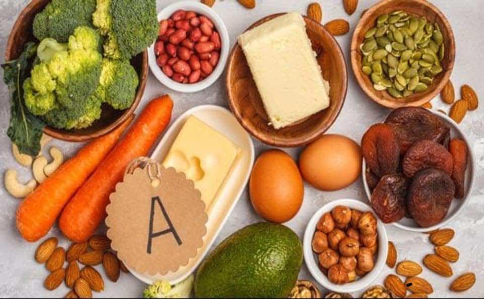 المصادر الطبيعية لفيتامين A