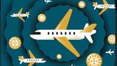 كوفيد-19| فيروس كورونا المتحور في بريطانيا وصل للشرق الأوسط على متن طائرة قادمة من بريطانيا
