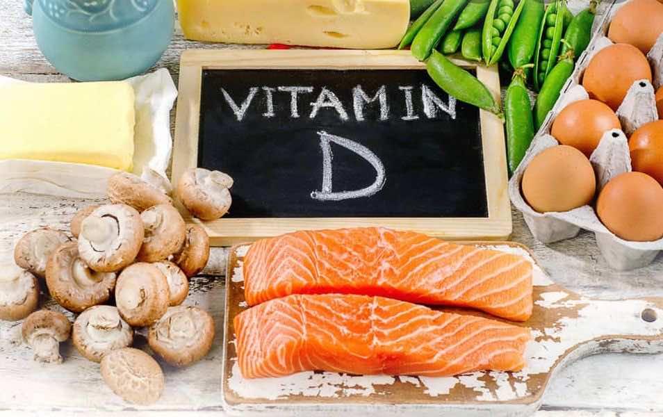 المصادر الغذائية لفيتامين د