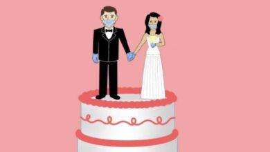 عروسان يقيمان حفل زفافهما في مستشفى عزل كوفيد-19 مع تدهور حالتيهما.. ويتحسنان في شهر العسل