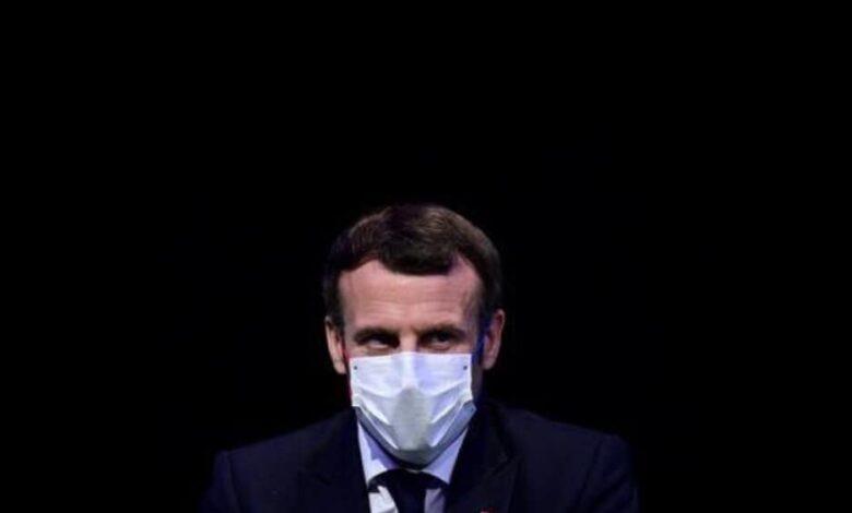 الرئيس الفرنسي ماكرون يصاب بكوفيد-19