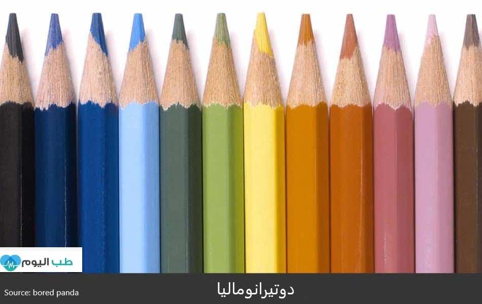 دوتيرانوماليا (نوع من نقص إبصار الألوان)