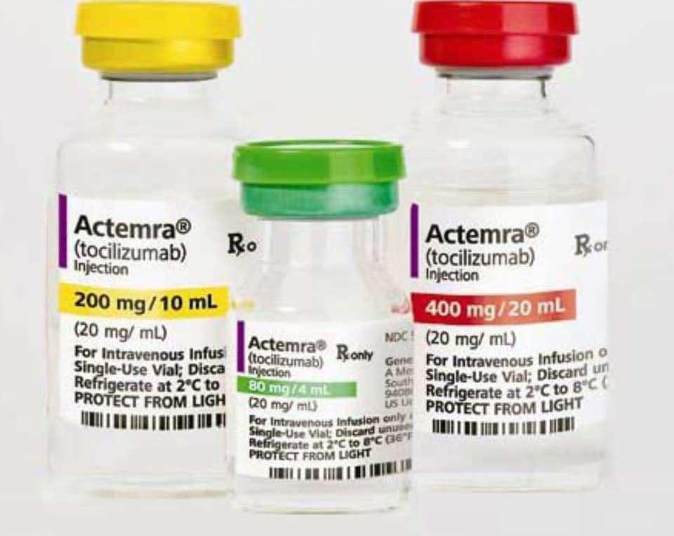 كوفيد-19   عقار أكتيميرا في برتوكول علاج كورونا في بريطانيا حيث ولكن بشروط