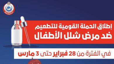 مصر | وزارة الصحة تحدد مواعيد حملة جديدة ل تطعيم شلل الاطفال - كل ما يهم أن تعرفه