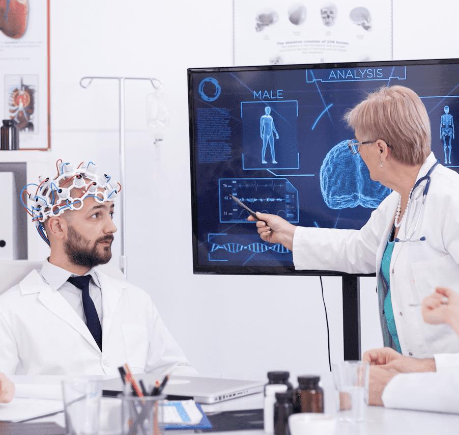 رسم كهربية المخ EEG