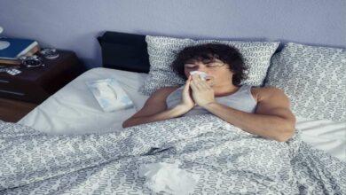 انسداد الانف اثناء النوم | 3 نصائح تساعدك علي النوم الهاديء؟